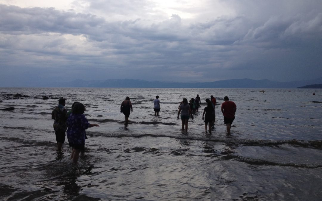 Taking Selfies…Together: Confirmation Camp at Lake Tahoe